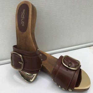 Rachel Zoe Gold open toed Flats